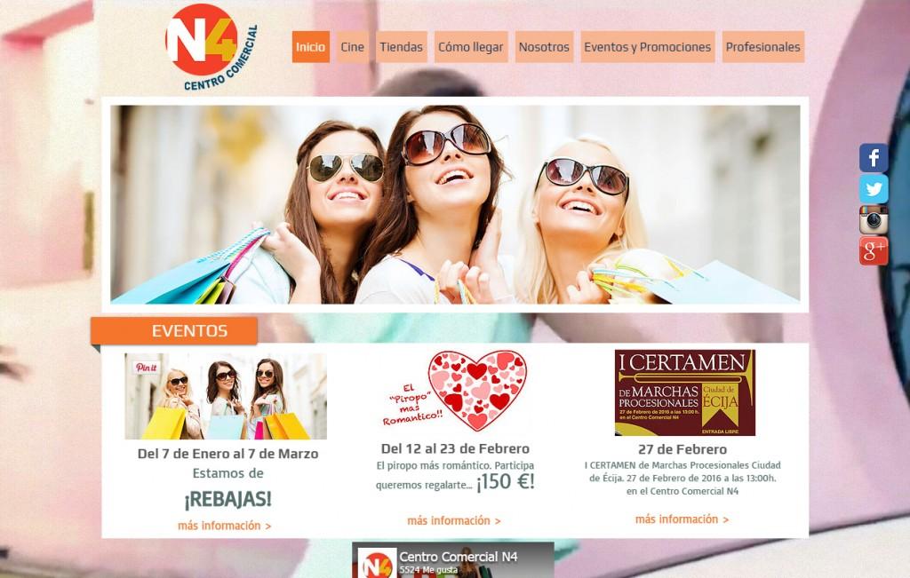 gestion redes sociales centro comercial