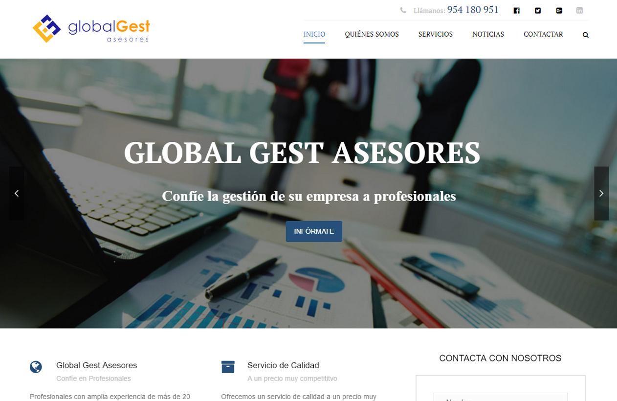 diseño web global gest asesores