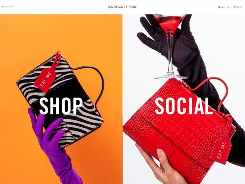 diseño tienda online scarlettros