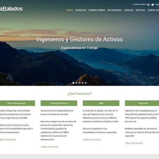 diseño web y community manager abalados